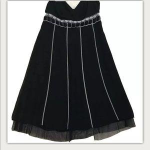 LOFT Dresses - Ann Taylor Loft Black Sleeveless Dress 12P